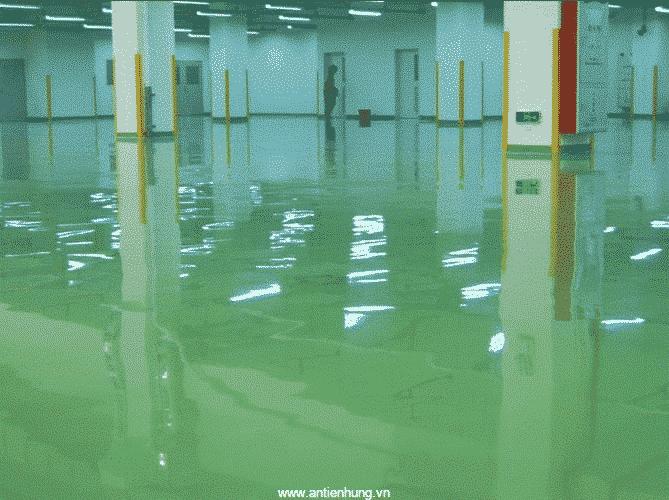 Sơn JOTAMASTIC 90 (20 LÍT) tạo sự nổi bật cho sàn nhà