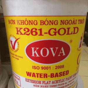 Sơn không bóng ngoài trời K261 - Gold SP