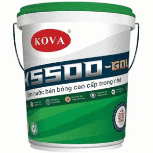 Sơn bán bóng cao cấp trong nhà K5500-Gold SP