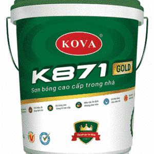 Sơn bóng cao cấp trong nhà K871 gold SP