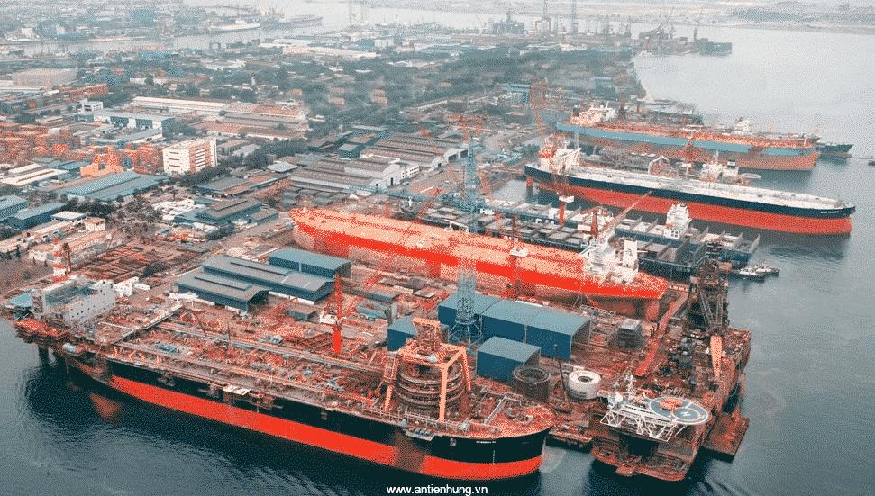 Tất cả các công trình trên biển đều cần dùng sơn MUKI EPS (20 LÍT)