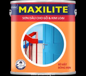 Sơn dầu cho bề mặt gỗ và kim loại Maxilite SP