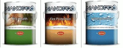 Sơn chống cháy Nanoprô SP