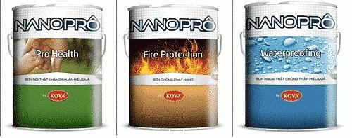 Sơn chống cháy Nanoprô