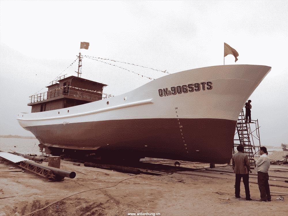 Sơn Jotun tạo sự nổi bật cho chiếc tàu thủy