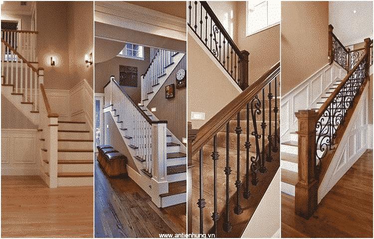 Cầu thang sắt và gỗ đều có thể sử dụng sơn PILOT II (20lít)