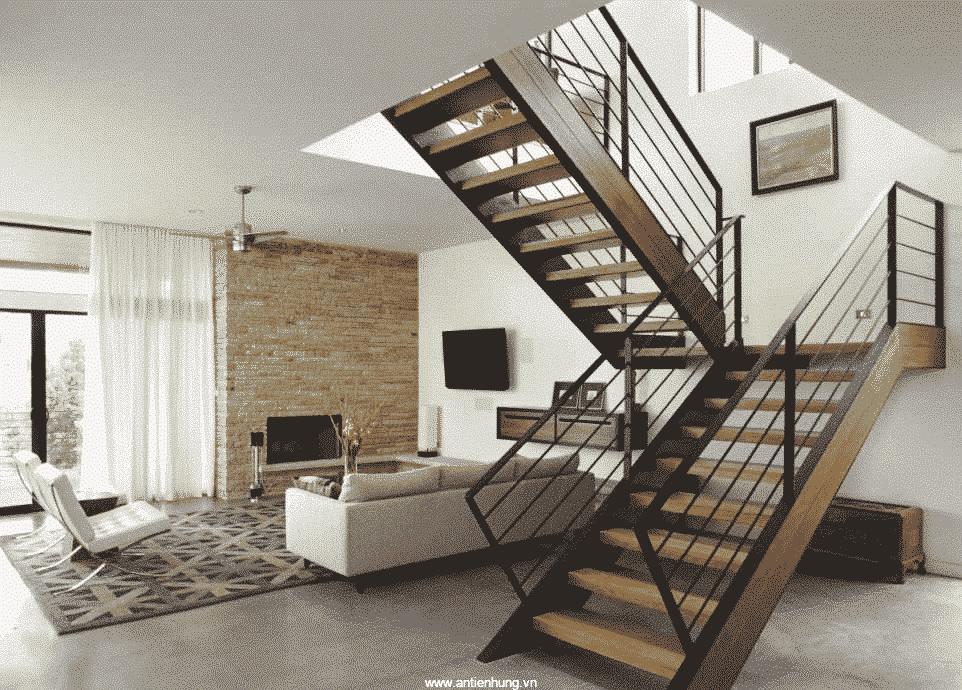 Căn nhà sẽ sang trọng hơn nếu cầu thang sử dụng sơn Jotun PILOT II (20lít)