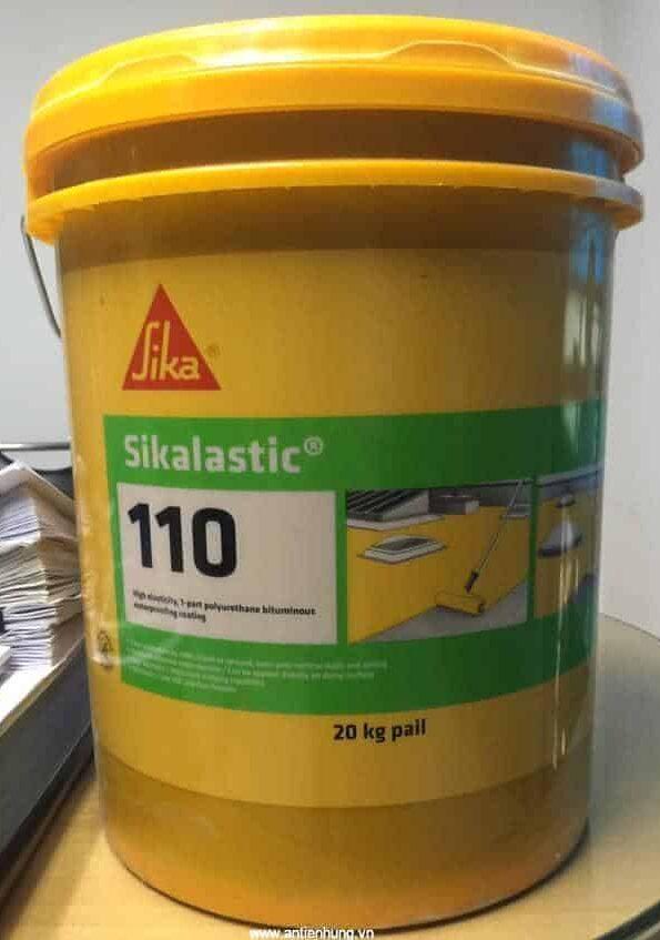 Sản phẩm sơn chống thấm Polyurethane 1 thành phần dạng lỏng - Sikalastic 110