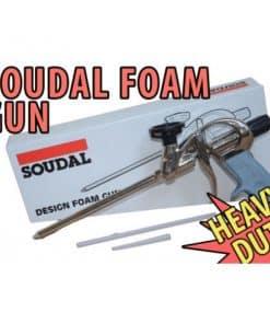 Dụng cụ bơm bọt nở PU chuyên nghiệp SOUDAL FOAM GUN
