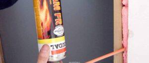 Fire rated PU Foam