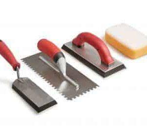 Dụng cụ thi công chống thấm