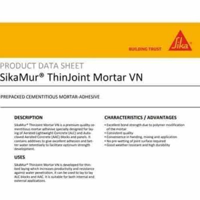 SikaMur ThinJoint Mortar VN