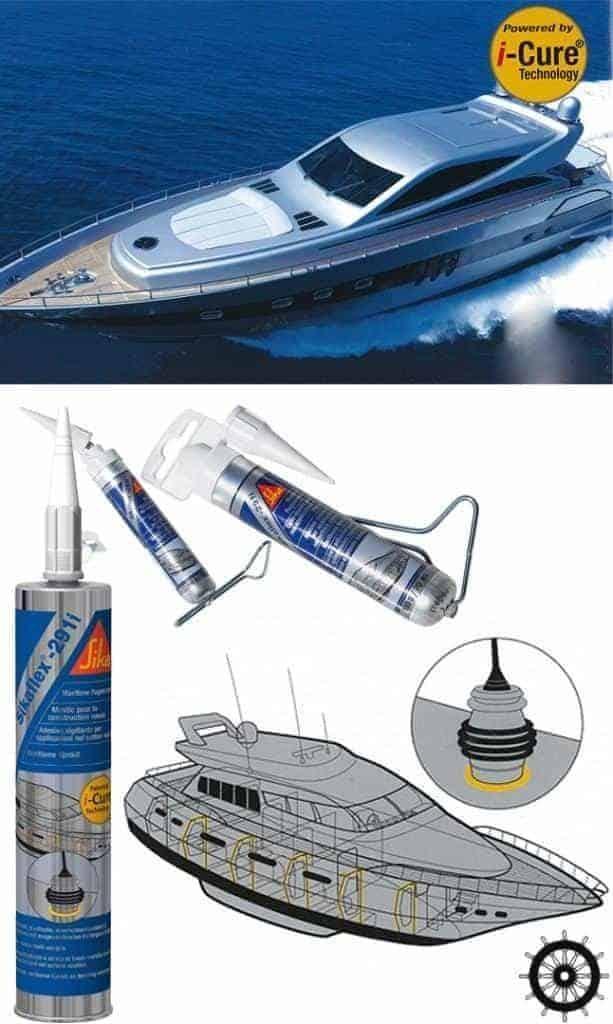 Ứng dụng Sikaflex 291i trong công nghiệp hàng hải