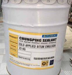 Sản phẩm Matit chèn khe Chungping Sealant   Thi công rót nguội