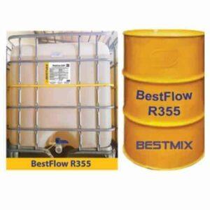 bestflow r355 phu gia sieu hoa deo duy tri do sut lau dai cho be tong