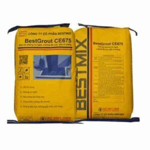 BestGrout CE675 được chế biến từ xi măng cải tiến, các khoáng chất silicate