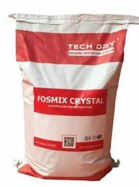 Fosmix Crystal là hóa chất chống thấm ngược