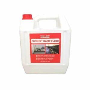 Fosmix Damp Fluid là chất chống thấm, chống ẩm chân tường