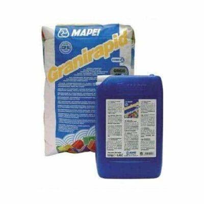 GRANIRAPID là vữa ốp lát gạch cao cấp gốc xi măng, hai thành phần