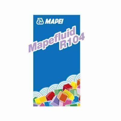 MAPEFLUID R104   PHỤ GIA SIÊU DẺO VÀ DUY TRÌ ĐỘ SỤT DÙNG CHO BÊ TÔNG104   PHỤ GIA SIÊU DẺO VÀ DUY TRÌ ĐỘ SỤT DÙNG CHO BÊ TÔNG