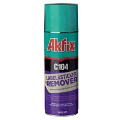 Akfix c104 chất tẩy tem và nhãn