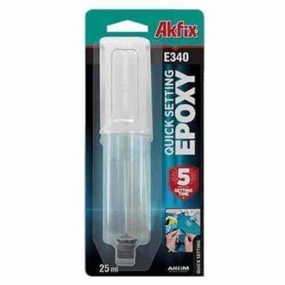 akfix e340 keo epoxy 2 thành phần ninh kết nhanh