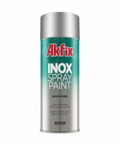 Akfix inox spray paint sơn phun inox