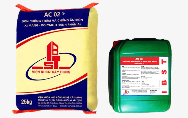 Giới thiệu về sơn chống thấm mã AC 02