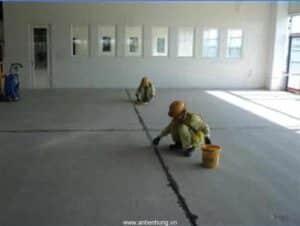 Thi công chống thấm sàn nhà với sơn Bestseal AC407