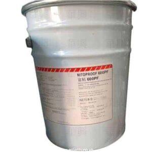 Thành phần đơn elastoremic acrylic lớp chống thấm nitoproof 600
