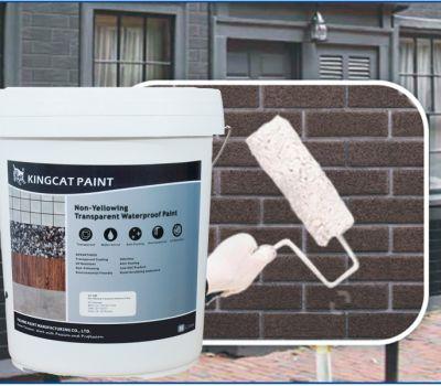 Sản phẩm sơn chống thấm trong suốt không màu không ngả vàng KingCat V1-107