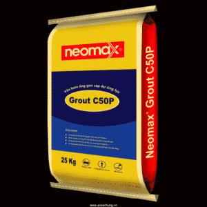 Vữa rót không co bơm cáp dự ứng lực Neomax Grout C50P