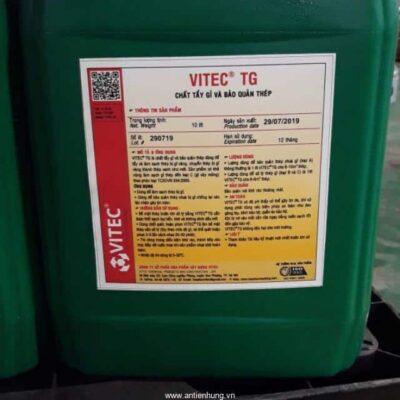VITEC TG - Chất tẩy gỉ và bảo quản thép