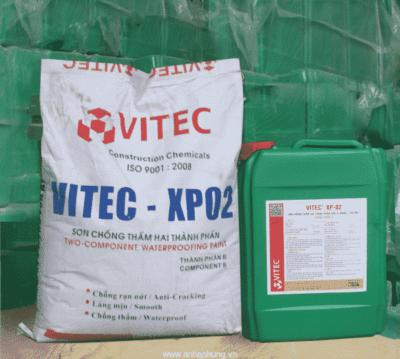 VITEC -XP02 Sơn chống thấm xi măng-polyme