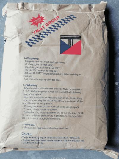 VMAT GROUT EHS vữa rót trộn sẵn gốc xi măng