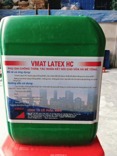 Vmat Latex HC phụ gia chống thấm và tác nhân kết nối