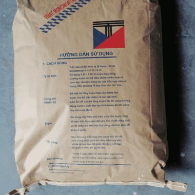 Vmat MonoMortar R vữa sửa chữa bề mặt 1 thành phần