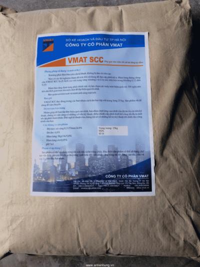 Vmat SCC phụ gia cho vữa rót và bê tông