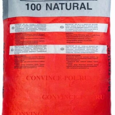 Mastertop 100 Natural xoa cứng nền dạng bột rắc