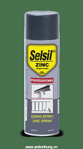 Selsil Zinc Spray xịt chông ăn mòn và rỉ sét kim loại