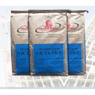 VICTA-TILE vữa dán gạch đóng gói sẵn gốc xi măng
