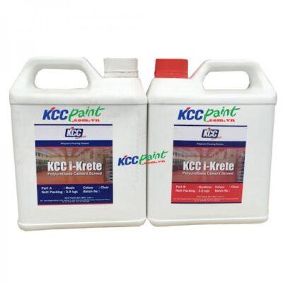 KCC PAINT CRETE MF VỮA POLYURETHANE TỰ PHẲNG ( 3 – 6 mm )