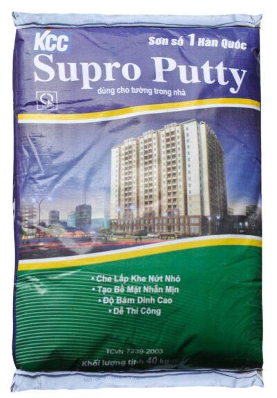 KCC SUPRO PUTTY BỘT TRÉT NỘI THẤT
