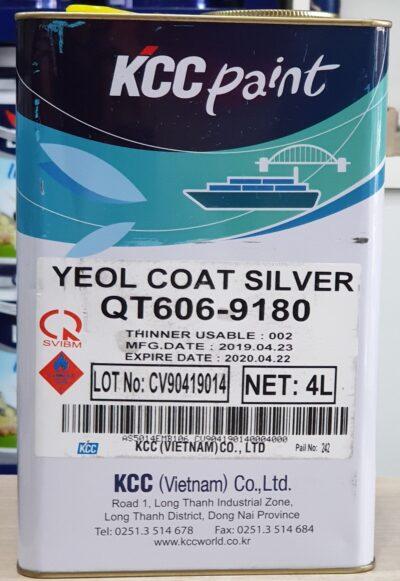 KCC YEOL COAT QT606-9180 | SƠN CHỊU NHIỆT 600ᴼC