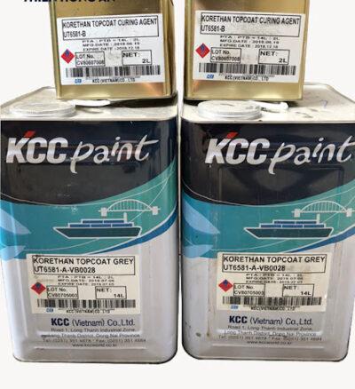 SƠN EPOXY KCC KORETHAN TOPCOAT UT6581