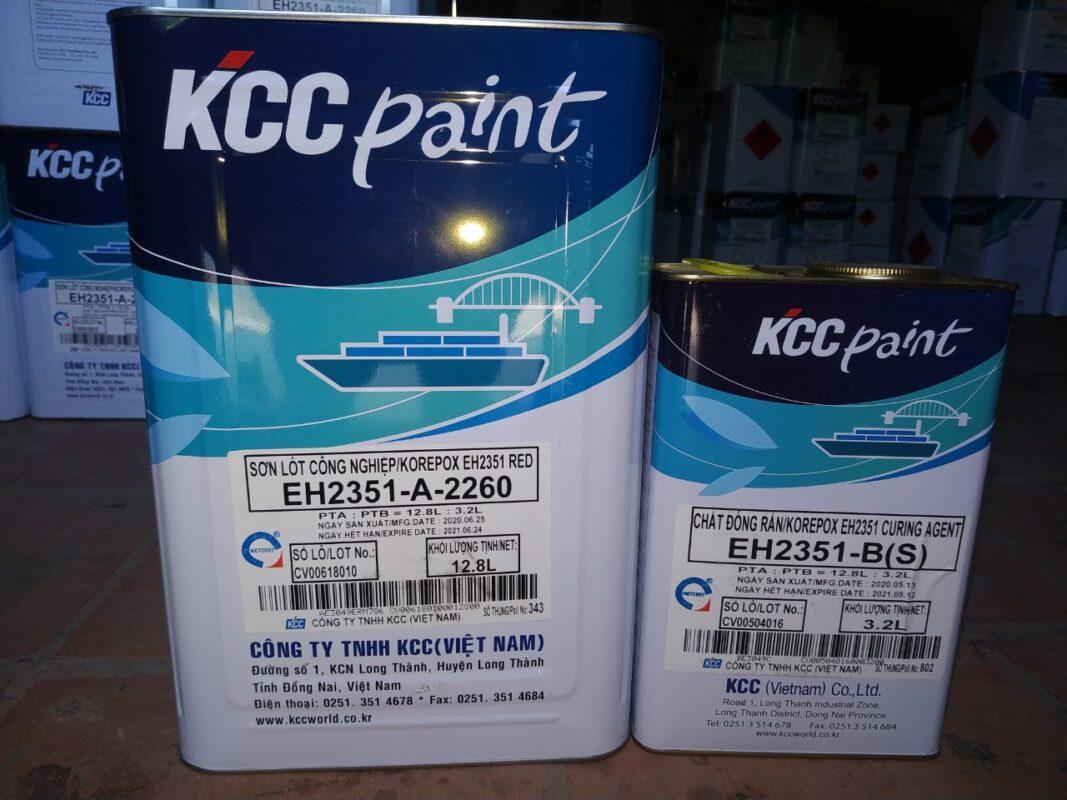 SƠN KCC EH2351 CHỐNG THẤM BỂ CHỨA NƯỚC THẢI